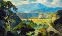 landscape by dullah