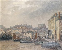 old homes, st. ives by frances tysoe smith