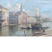 the grand canal, venice by nicholas briganti