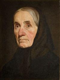 portret starszej pani by anna bilinska-bohdanowicz
