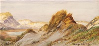 dunes on sylt by hugo köcke