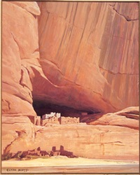 white house of the navajos by clyde eugene scott
