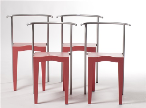 chaises dr glob set of 4 by philippe starck - Chaise Starck