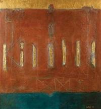 komposisi dengan tujuh batang emas by ahmad sadali