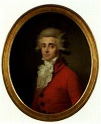 portraits de monsieur (+ madame de roche; pair) by antoine vestier