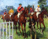 hurst park races, middlesex by mary cameron