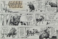 the feeding habits of the moose (comic mark trail) by ed dodd