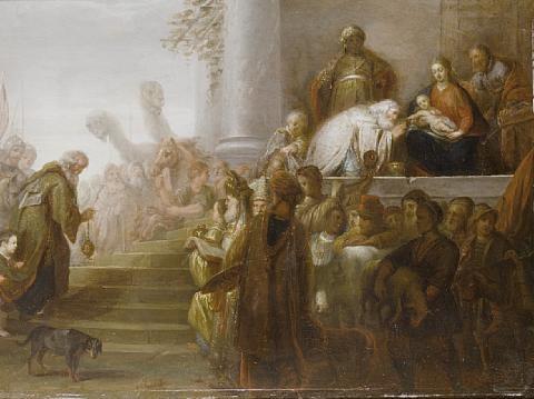 the adoration of the magi by gerbrand van den eeckhout