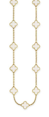 alhambra necklace by van cleef arpels