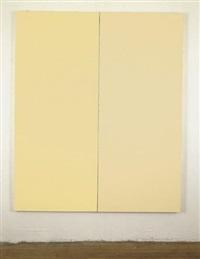 ivoire par corona et ripolin (diptych) by bertrand lavier