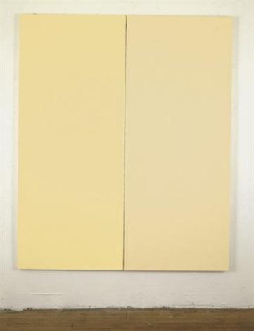 ivoire par corona et ripolin diptych by bertrand lavier