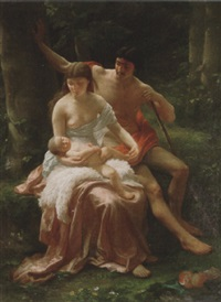 the shepherd's family by adolph langhard