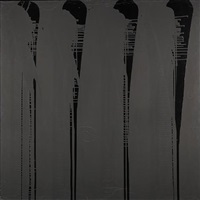 matt black and gloss by ian davenport