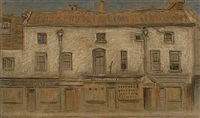 row of shops (+ 2 others; 3 works) by horace mann livens