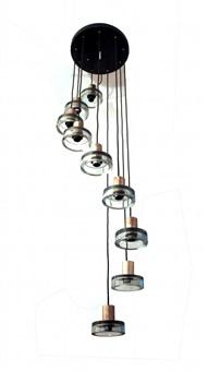 ceiling light by seguso vetri d'arte (co.)