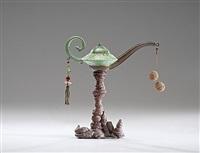 hi-fibre magic lamp by adrian saxe