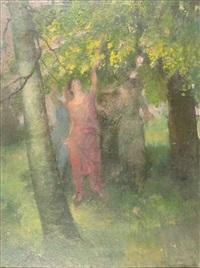 gathering blossom by henry john lintott