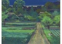 village of fresh green by sumio goto