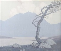 early morning in donegal - 19 by paul henry