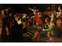 the martyrdom of saint thomas becket by agostino ciampelli