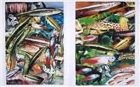 aquarium i und ii (2 works) by isa genzken