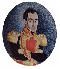 portrait of simón bolívar by josé maría espinosa