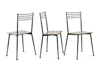 drei prototyp-stühle ollo by alessandro mendini and alessandro guerriero