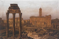 the forum, rome by victor vervloet