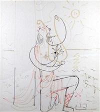 orphée charmant les oiseaux by jean cocteau
