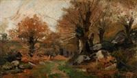 forêt en automne by ernst baillet