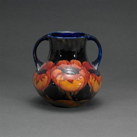 Poppy Vase By Moorcroft On Artnet