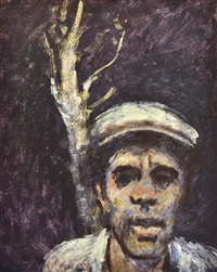 man and tree by noel jack counihan
