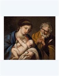 sacra famiglia by francesco de rosa