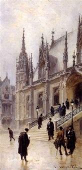le palais de justice de rouen by léon jules lemaitre