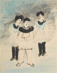 trois personnages de carnaval by alice frey