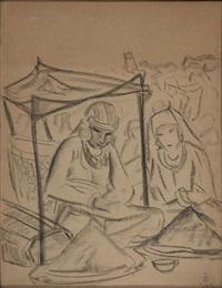 the saffron sellers by svetoslav nikolaevich roerich