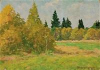 la forêt by vladimir pavlovich kormanayevsky