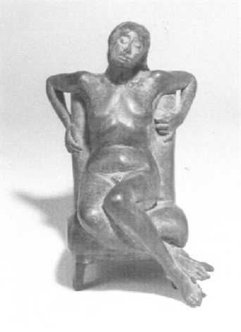 seated woman by david mcfall