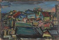 houses by pinchas litvinovsky