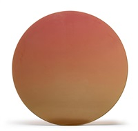 orange disc by de wain valentine