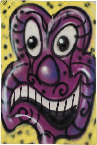comic by kenny scharf