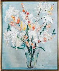 bouquet de fleurs de printemps by françoise leleu
