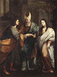 die vermählung der jungfrau maria by pierto lauri