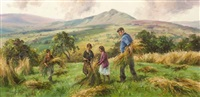 harvesting, in the glens by donal mcnaughton