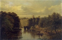 warwick castle by albert dunnington
