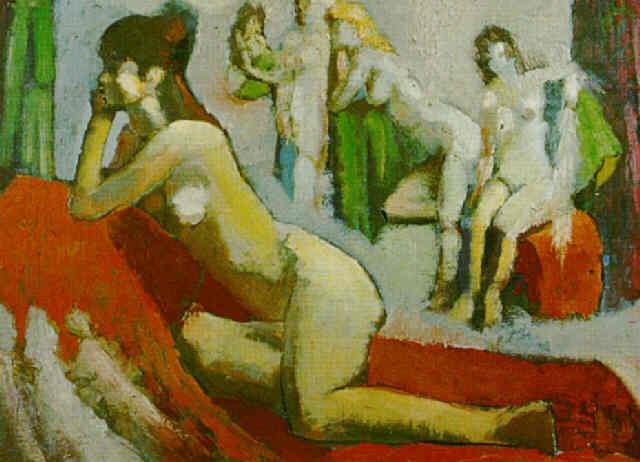 desnudo femenino by clarel neme