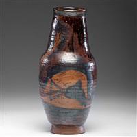 honey colored vase by sam haile