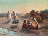 maternité dans le désert by josé alsina
