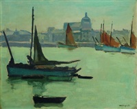 port de la chaume by albert marquet