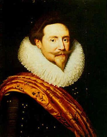 A Portrait Of Prince Frederik Hendrik Of Oranje By Michiel